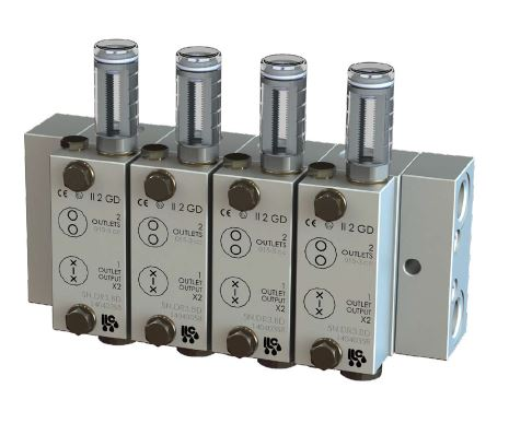 ILC Dual Line Grease Valves