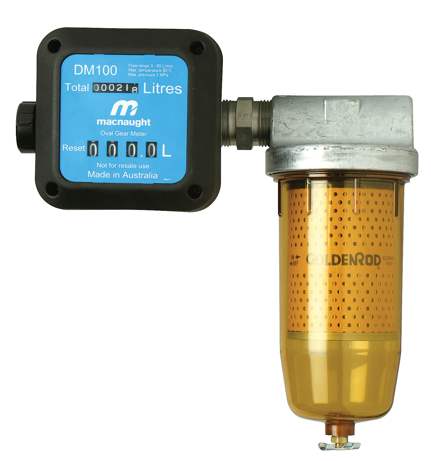 Fuel Meters 187 Lube Control